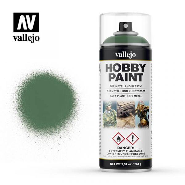 西班牙 Vallejo AV水性漆 HOBBY PAINT 28028 噴罐-疫病綠色-400ml