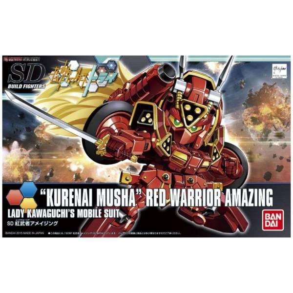 萬代 BANDAI 1/144 鋼彈模型 SDBF #41 驚異紅武者 組裝模型