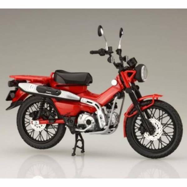 預購11月 富士美 1/12 BikeNX3 HONDA CT125 HUNTER Cub 躍動紅