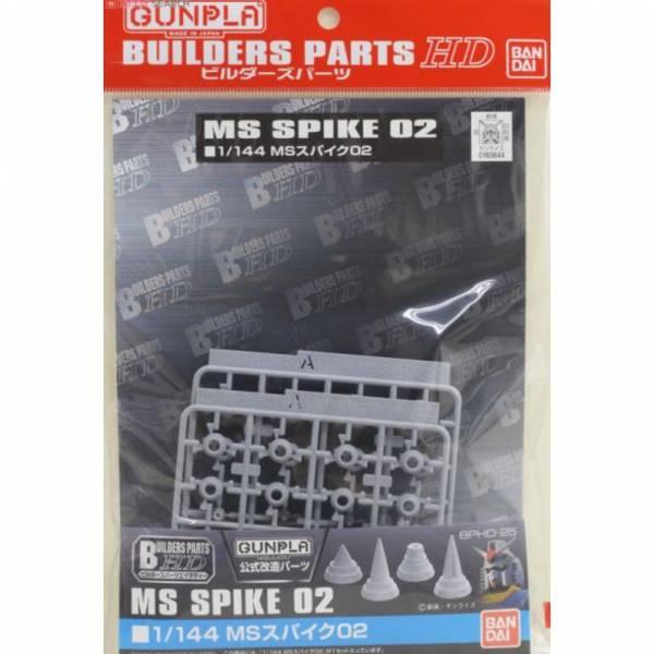 萬代 BANDAI 組裝模型 BUILDERS HD 1/144 MS尖刺02 改造補品