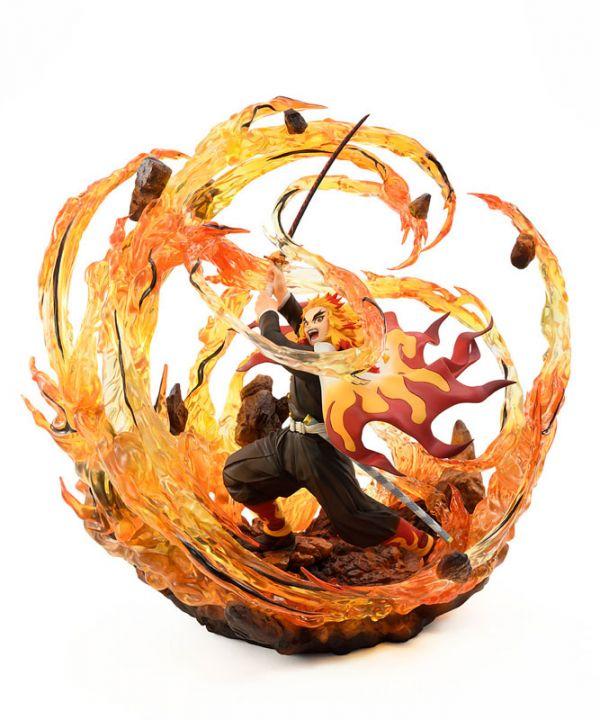 預購22年3月 BellFine 1/8 煉獄杏壽郎 火焰 特效版 PVC
