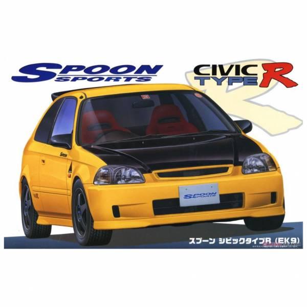 富士美 FUJIMI 1/24 汽車模型 ID-280 046358 Spoon Civic TypeR EK9 組裝模型