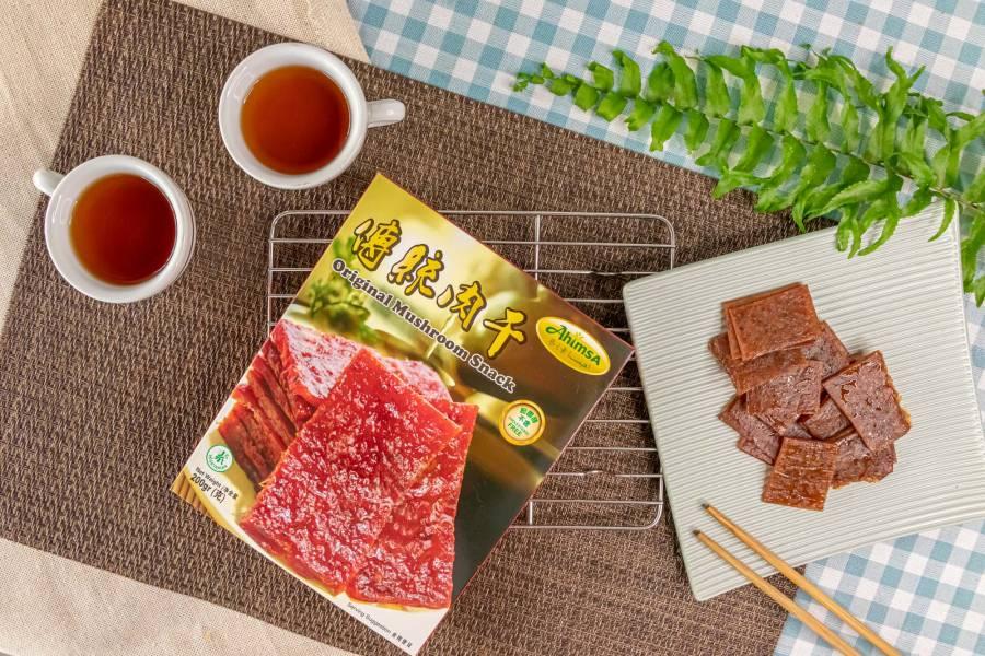 傳統素肉干【全素】 傳統素肉干