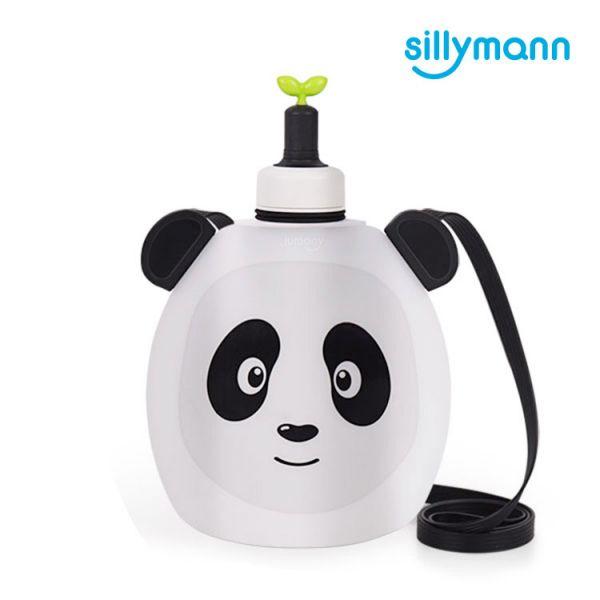 【韓國sillymann】 100%鉑金矽膠貓熊水袋-350ml