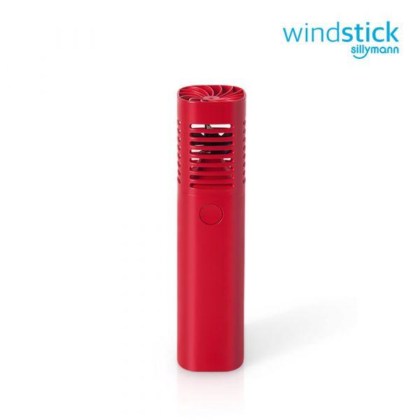 【韓國sillymann】 攜帶型風棒電扇(紅)