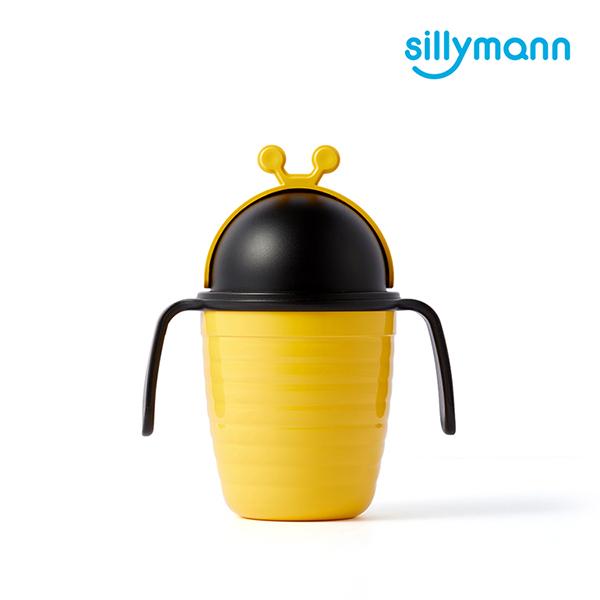 【韓國sillymann】蜜蜂吸管兒童水杯(250ml)