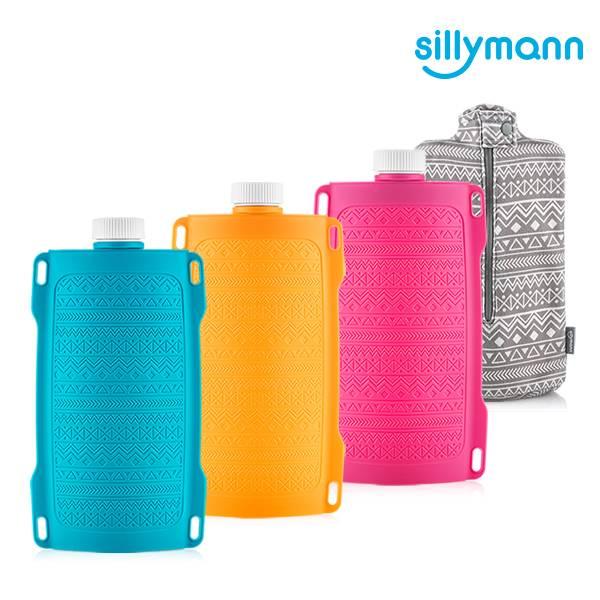 【韓國sillymann】100%鉑金矽膠保溫水瓶/水袋700ml