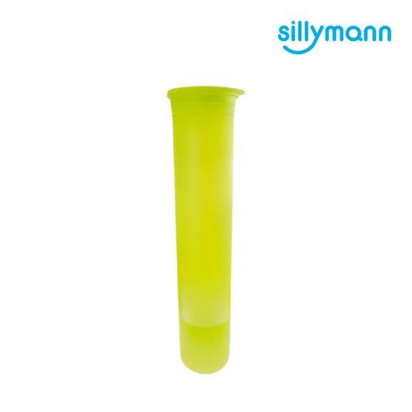 【韓國sillymann】 100%鉑金矽膠冰棒分裝條(透明綠)