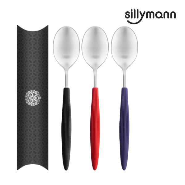 【韓國sillymann】  100%鉑金矽膠精品手感湯匙