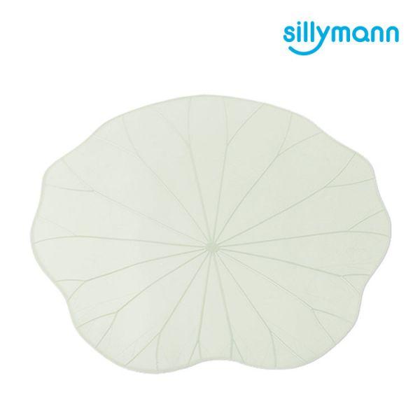 【韓國sillymann】 100%鉑金矽膠荷葉多用保鮮膜-25cm(白)