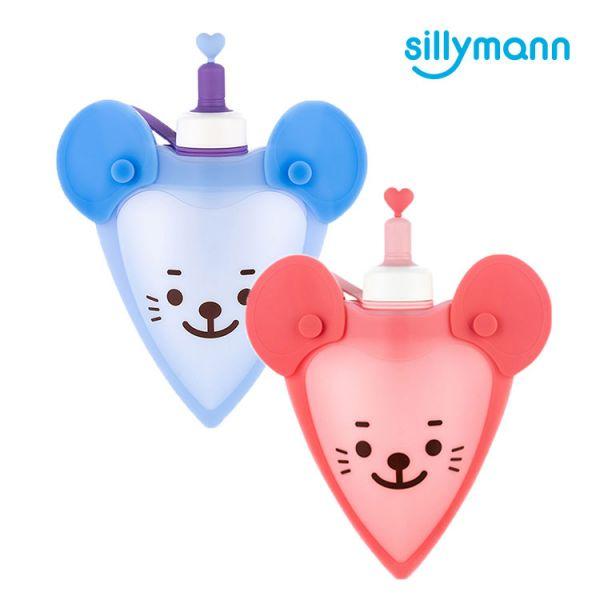 【韓國sillymann】 100%鉑金矽膠老鼠水袋-250ml