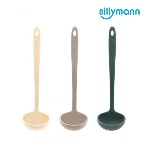 【韓國sillymann】 100%鉑金矽膠精品一體成型湯勺