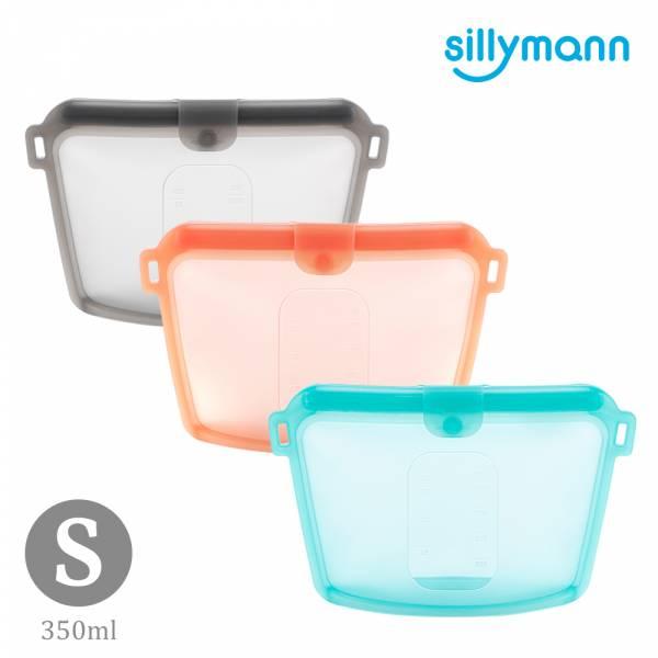 【韓國sillymann】 100%鉑金矽膠密封袋-350ml