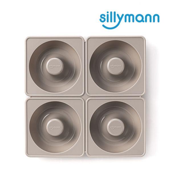 【韓國sillymann】100%鉑金矽膠甜甜圈烘焙模具(烤箱/氣炸鍋/微波爐專用)(可可灰)