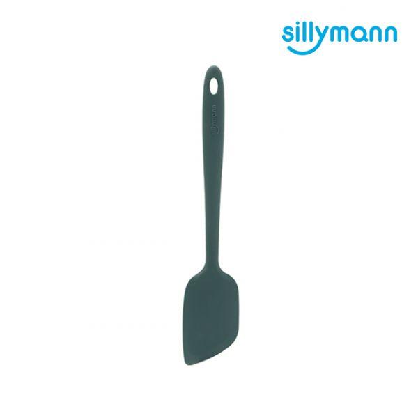 【韓國sillymann】100%鉑金矽膠精品一體成型多功能(抹/拌/翻)鏟(海洋綠)