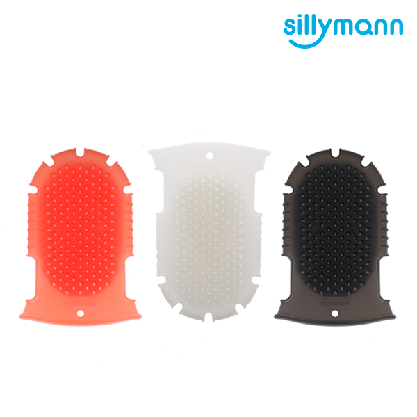 【韓國sillymann】 100%鉑金矽膠舒壓按摩洗澡刷