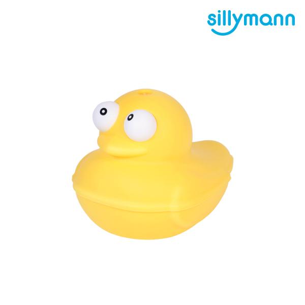 【韓國sillymann】 100%鉑金矽膠小鴨洗澡玩具