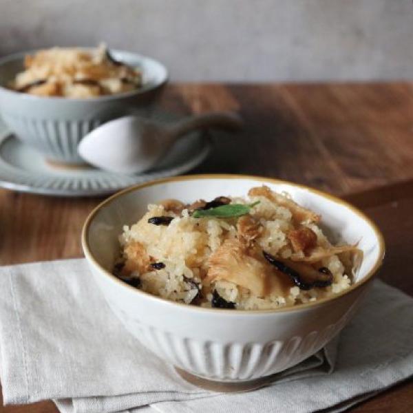 麻油猴頭菇米糕