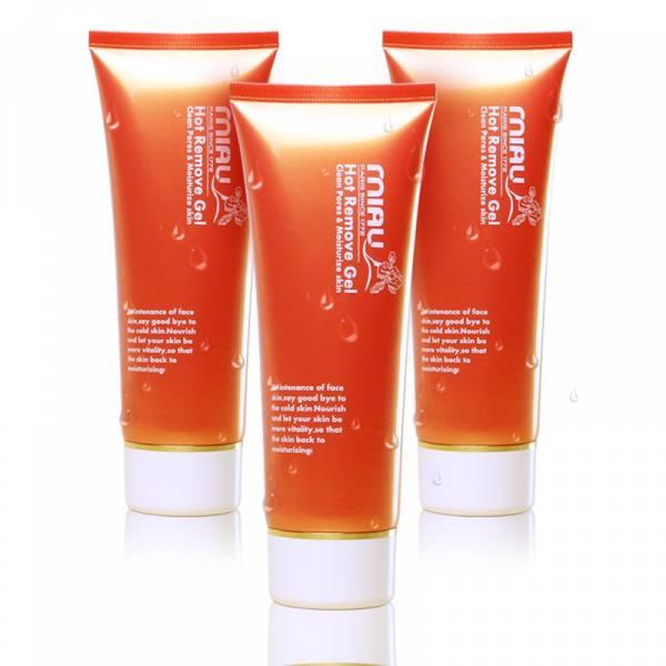 MIAU 溫感按摩卸妝凝膠-清潔毛孔髒汙、粉刺,提升肌膚保濕力 買2送1