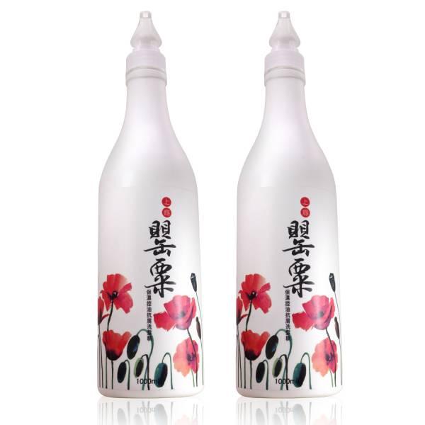 MIAU上癮罌粟香氛保濕控油抗屑3效洗髮精/1000ml/2瓶/防止頭皮的油臭味及汗味/保持頭皮健康狀態
