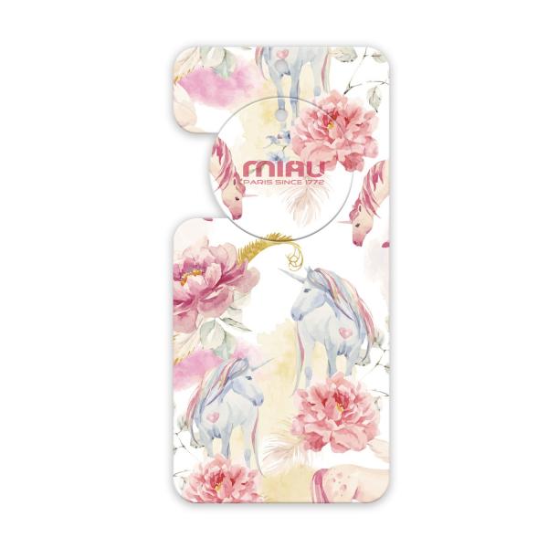 MIAU奢華香氛香水吊卡(牡丹與胭紅麂絨)香味持續45天/適用於車上/浴廁/房間/除臭/空氣清新