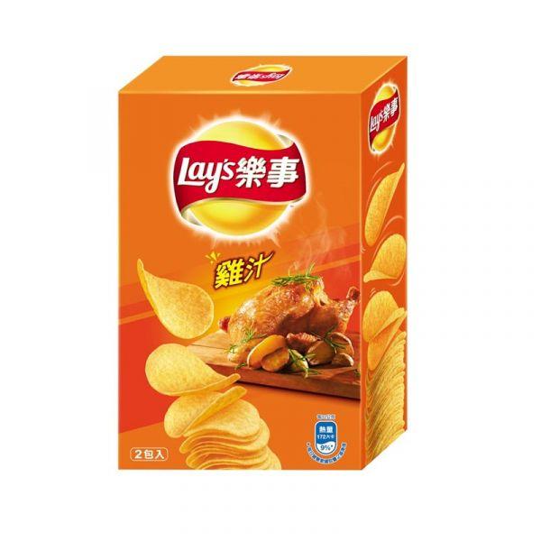 樂事 新經濟包-雞汁 96g 樂事,新經濟包,雞汁,零食,洋芋片