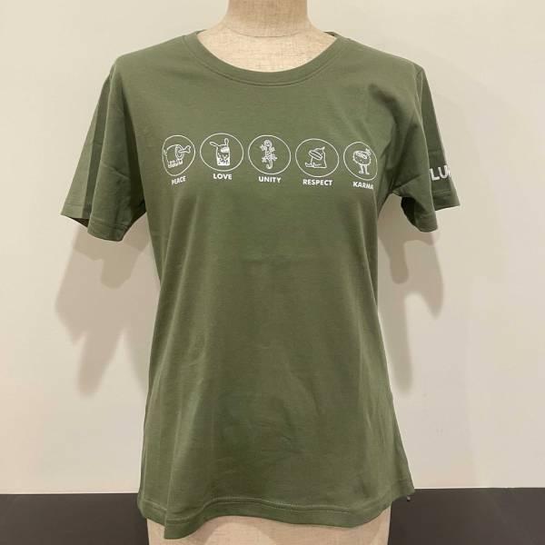 噗浪獸在一起T恤 Together T-shirt T恤, 噗浪, Tshirt, tshirt, T-shirt, 噗浪獸, 實穿, 百搭, 肉骨獸, 科科兔, 獨眼雞, 蛋鴨, 蝙蝠, 橄欖綠