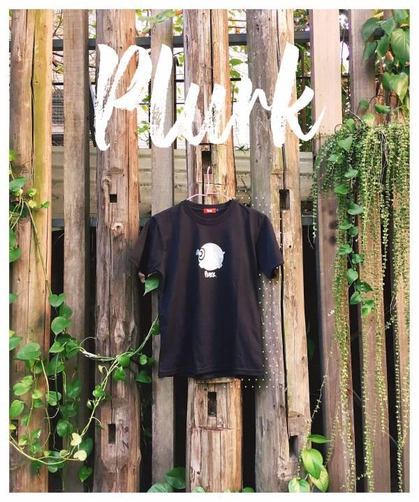 Plurk Black T-shirt 棉T,客制T,T-shirt,噗浪T恤