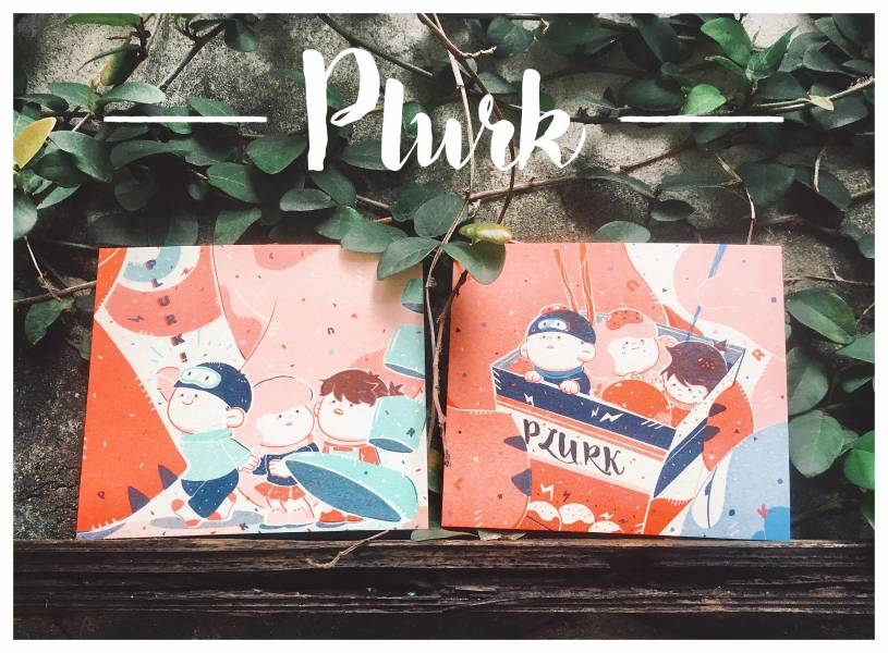 [加價購]噗浪辦公室riso四色印刷小卡組