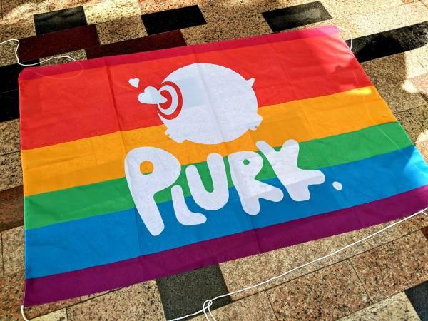 肉骨獸彩虹旗 彩虹,彩虹旗,大旗,噗浪,肉骨獸,旗子,同志,買,哪裡買,彩虹旗 買,