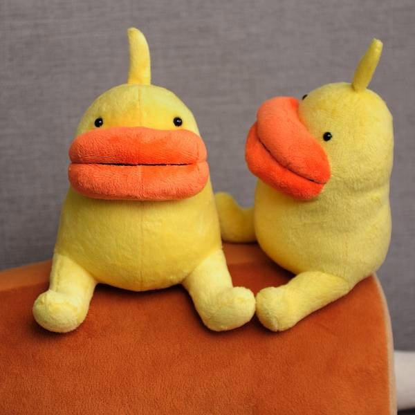 蛋鴨 Eggy 鴨鴨,鴨,蛋鴨,噗浪,玩偶,可愛,禮物,呆毛