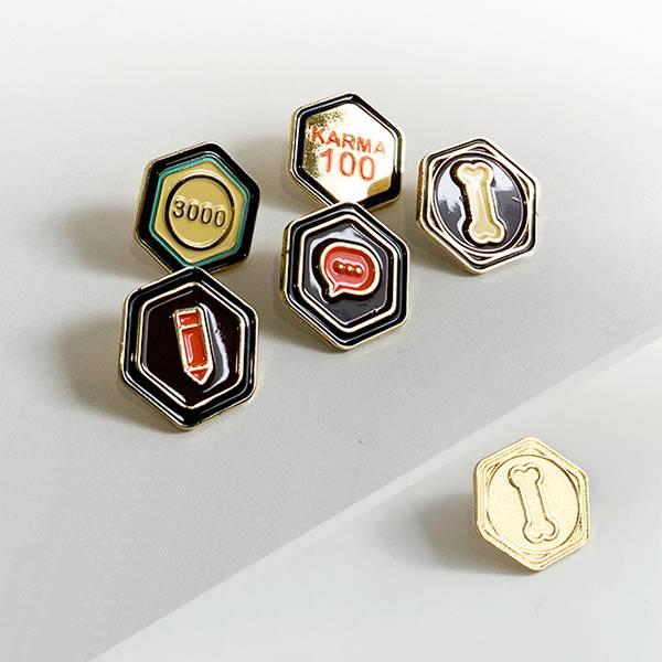 實體成就徽章(6款) 徽章, 噗浪, Karma, 訊息, 回應, 註冊, 噗幣, 收藏
