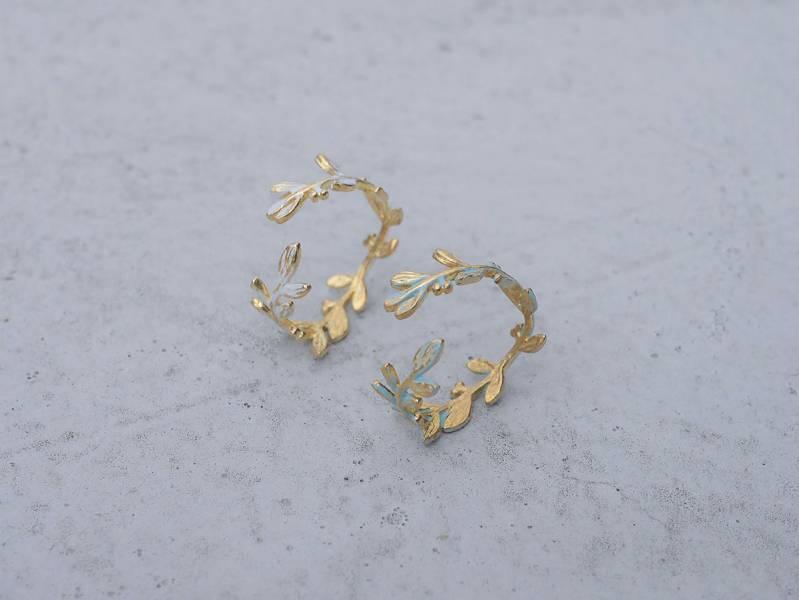 北歐森林系列 - 藤蔓 * 戒指兩色 黃銅戒指 藤蔓 戒指 黃銅 植物