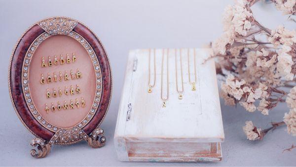 字母款加購 - Mini letter 項鍊限定 黃銅 客製 字母 鋯石