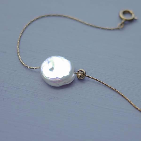 Hydromancy | 水占術系列 - 海洋微風手鍊 * 兩色 變形珍珠 手鍊