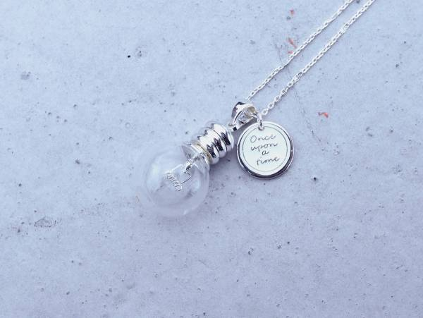 Edison's bulb necklace- 3 colours to choose from Edison's bulb necklace