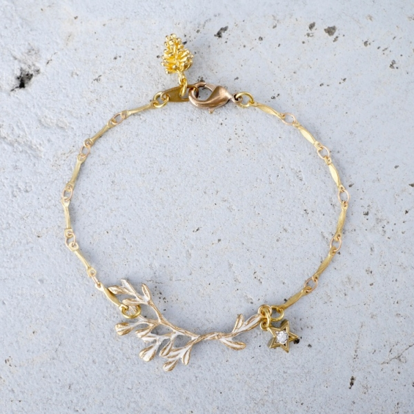 Nordic forest bracelet - two colours to choose from Nordic forest bracelet