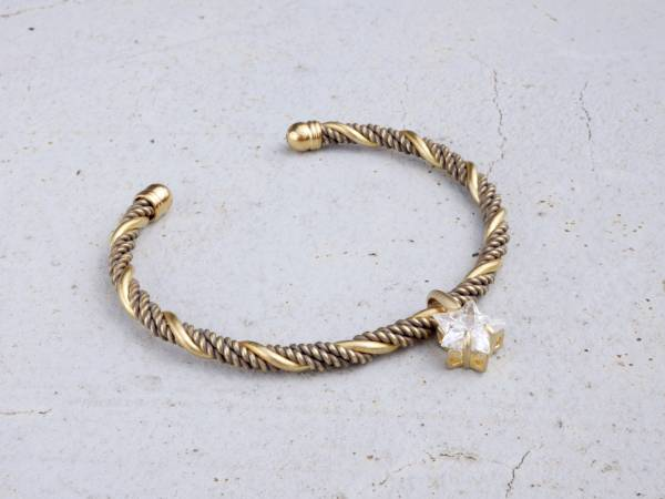 Meteor bangle Meteor bangle brass