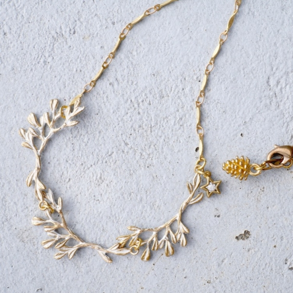 Nordic forest necklace- two colours to choose from Nordic forest necklace