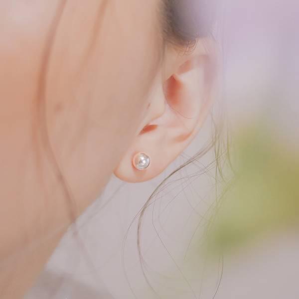 ONCE LITE | 空氣系 - 螢光純銀耳環 * 四款 抗敏耳環 穿洞耳環 純銀 純銀耳環 純銀耳針 純銀飾品 耳環 銀色耳環