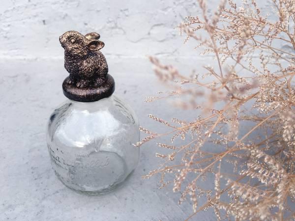 Classic金蘋果小兔子玻璃罐 Classic 童話 金蘋果 小兔子 玻璃罐