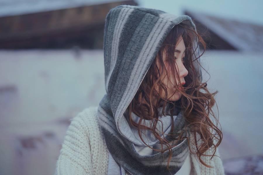 Isolated Island - 輝石 * 帽子圍巾 帽子圍巾 圍巾帽 圍巾 冬天 禮盒