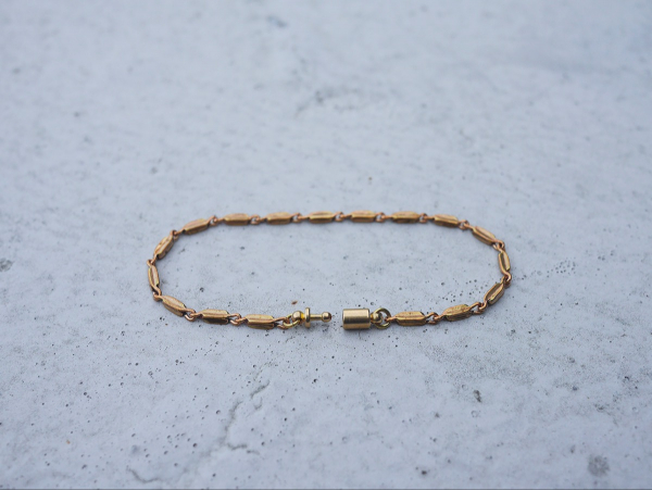 暮光系列 - 橢圓珠光 * 手鍊 黃銅 手鍊