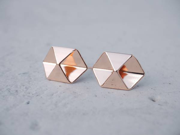 symmetrical - a pair of geo shapes earrings < once upon a time*earrings > symmetrical earrings