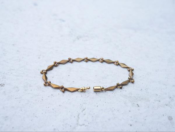 暮光系列 - 菱形微光 * 手鍊 黃銅 手鍊