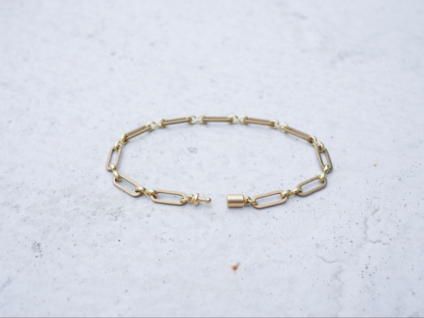 Twilight series-O link chain* bracelet brass bracelet