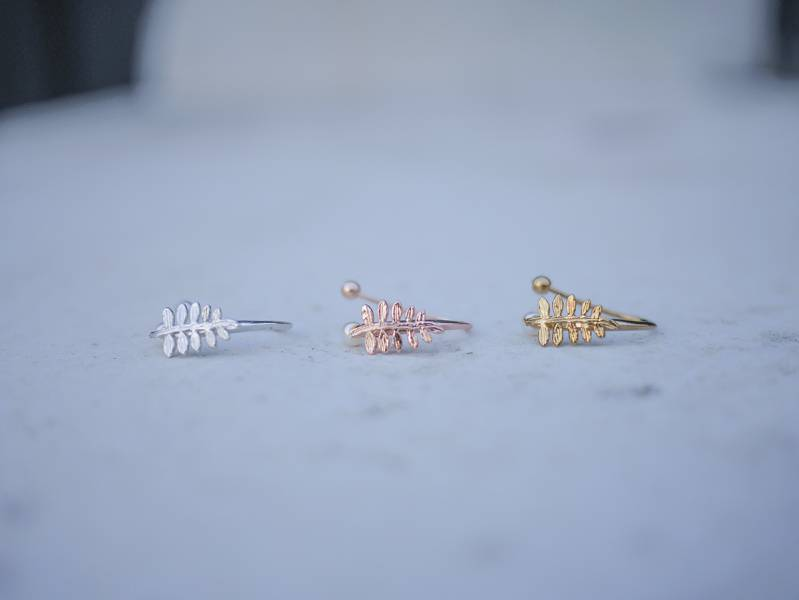 PURE系列 - 初生 三色 * Fairy ear cuff earring cuff