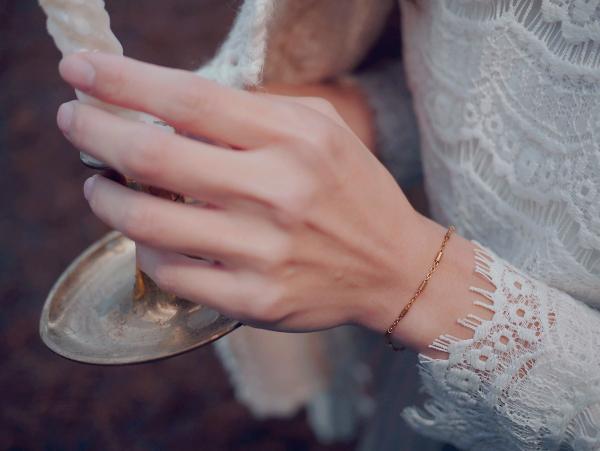 暮光系列 - 細光 * 手鍊 黃銅 手鍊