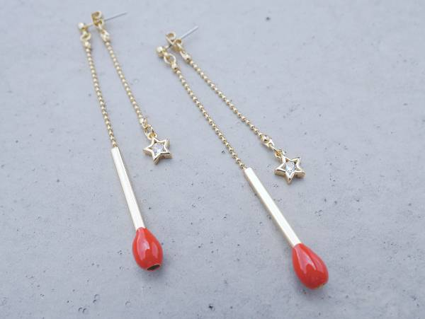 A Match earrings- Two colours to choose from A Match earrings