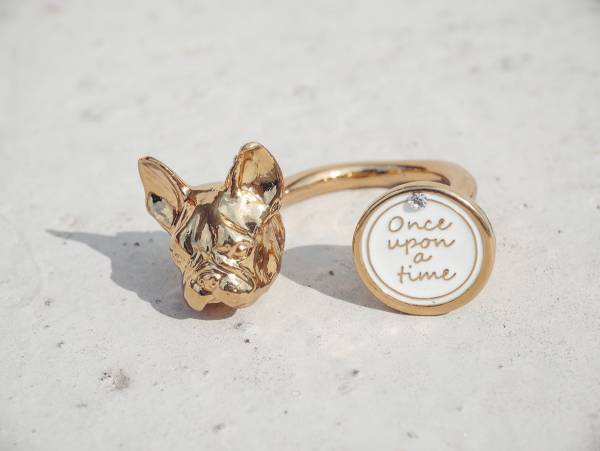 Gazing French bulldog ring-2 colours to choose from French bulldog ring